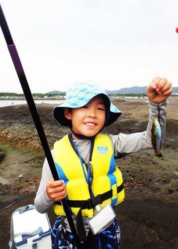 ウキ釣り体験の写真