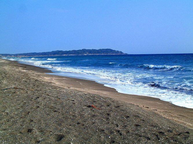 海岸線(平砂浦)