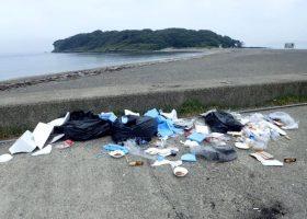 沖ノ島周辺の諸課題についてのアンケートをお願いしております。