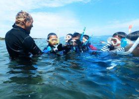 大賀海岸海の様子を伝えます 2020夏2