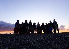 「50年後の森の再生へ」沖ノ島・森の環境再生活動を行いました! 2021年1月30日(土)