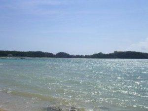 名護のビーチ