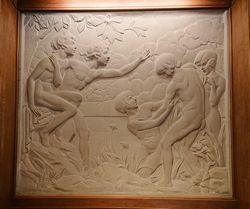 イヴァン=レオン・ブランショの作品「戯れる子供たち」