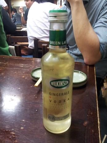 ginger-vodka