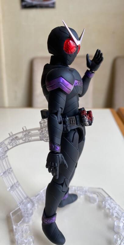 仮面ライダージョーカーの完成品