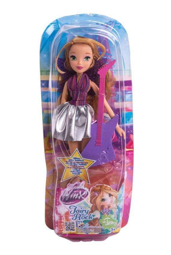 """Кукла WinX Club """"Рок-н-ролл"""", Флора IW01591802 купить по ..."""