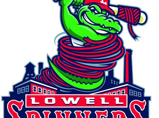 Lowell Spinners cause tiffy with logo change