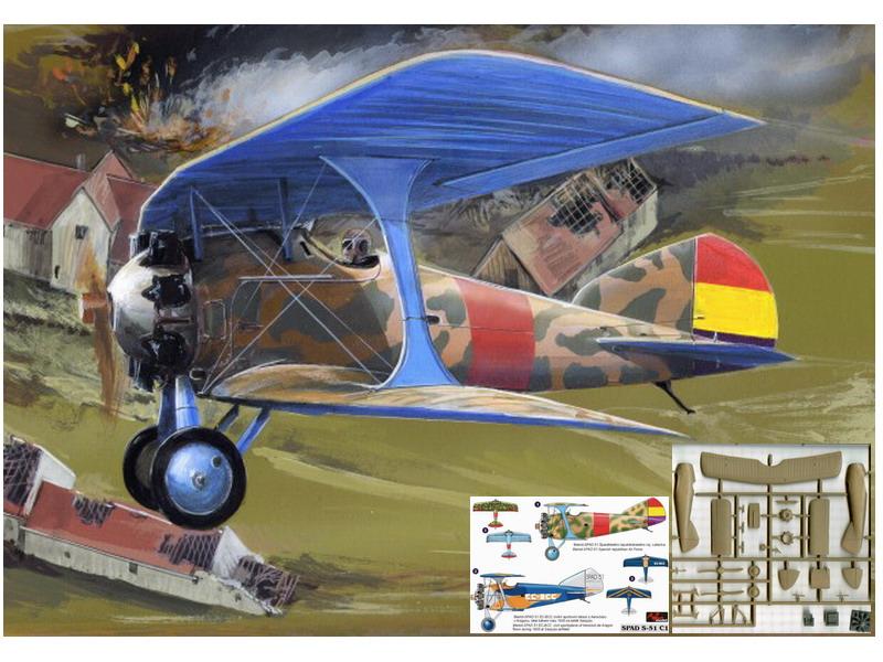 Resultado de imagen de bleriot-spad 51 model kit