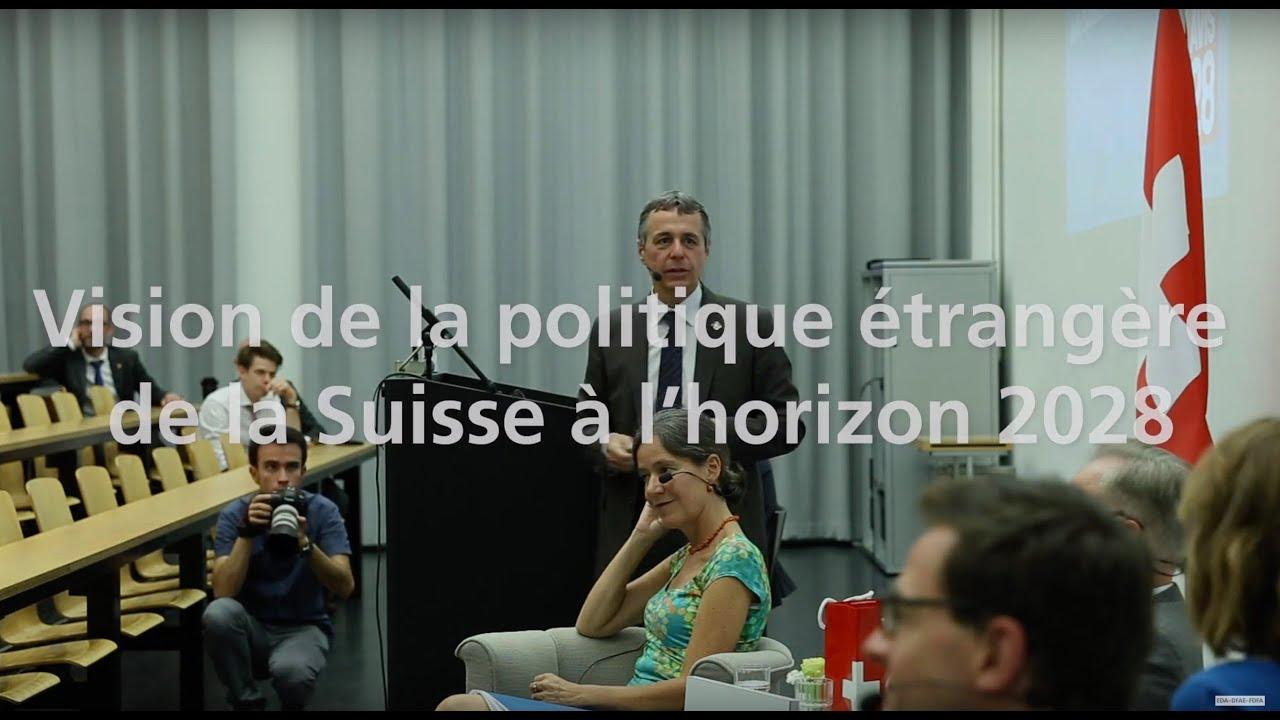 رؤية السياسة الخارجية السويسرية في أفق عام 2028