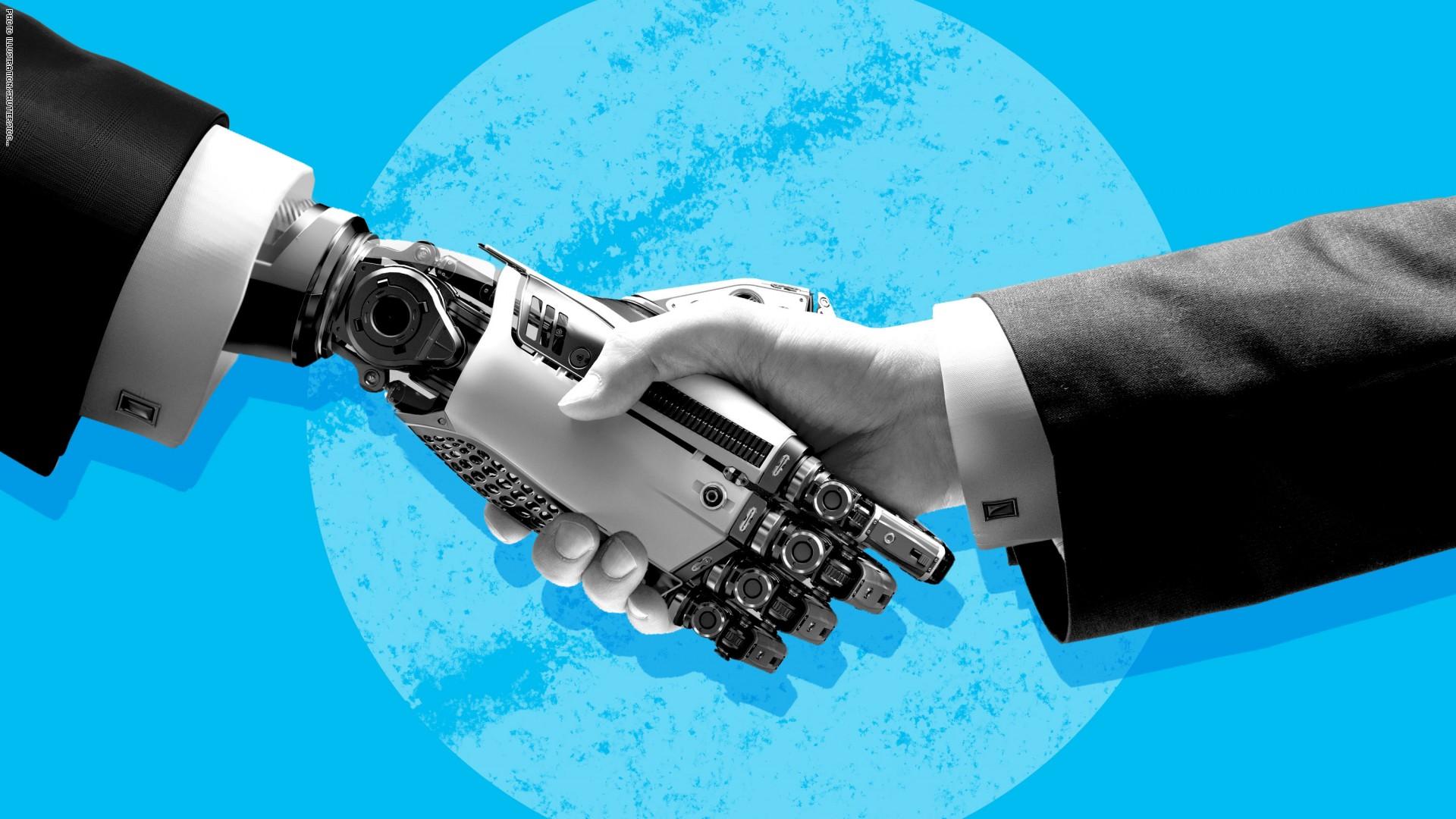 انفوجرافيك.. الروبوت يسرق وظائف الإنسان وينافسه في البيت