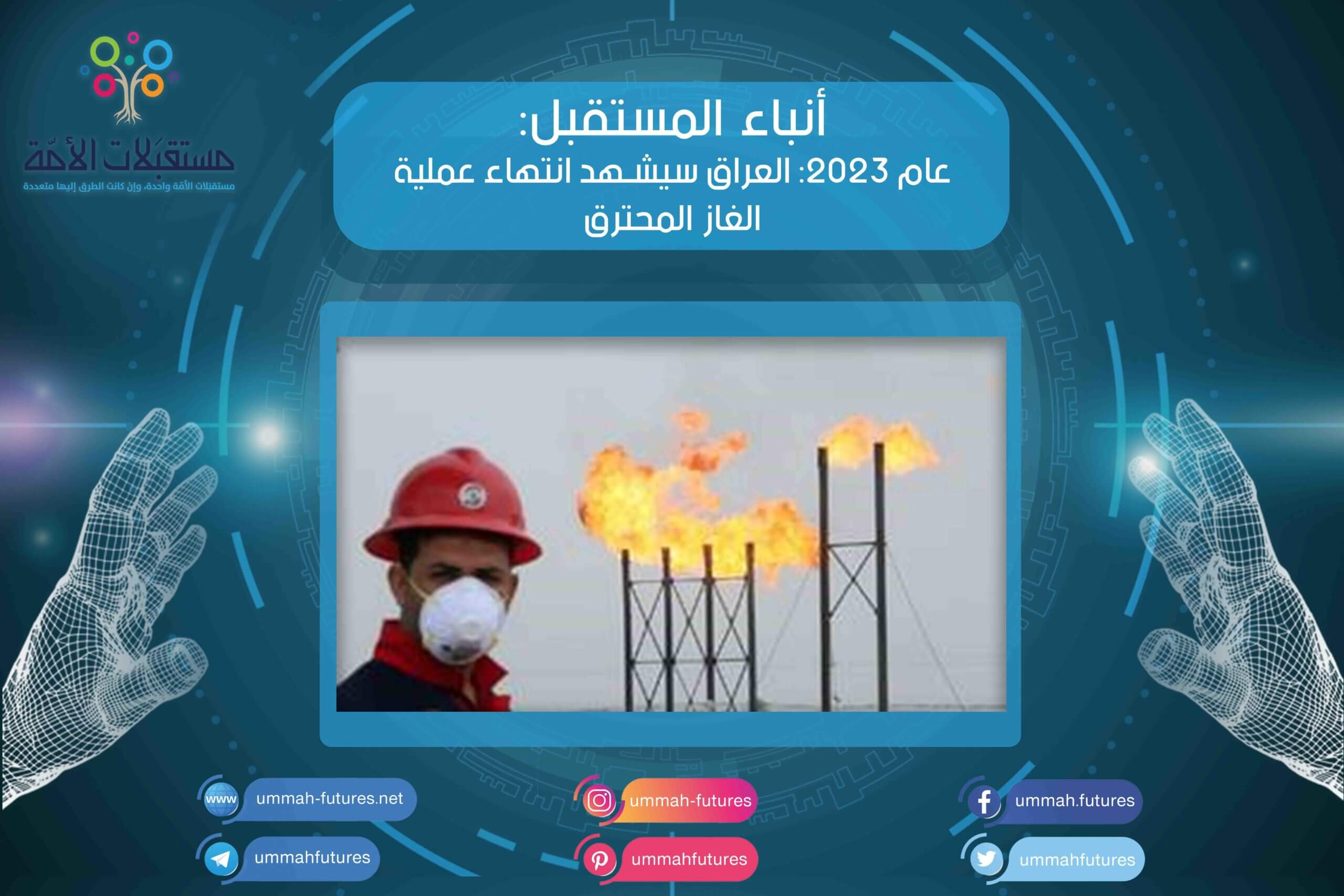 عام 2023: العراق يشهد انتهاء عملية الغاز المحترق