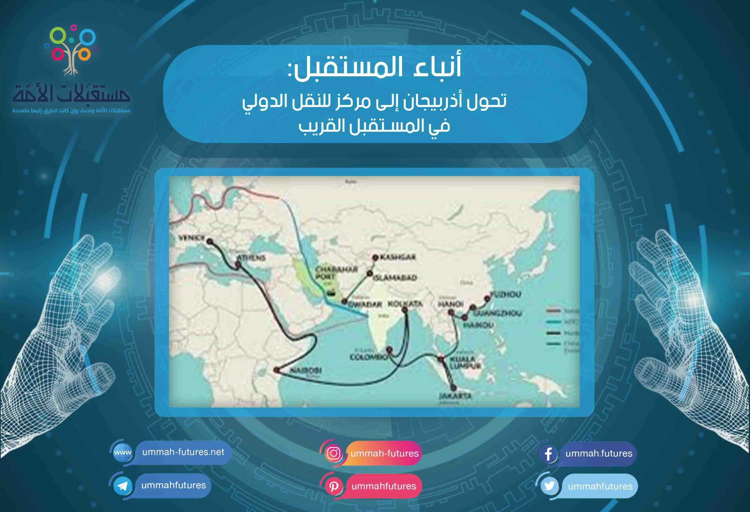 تحول أذربيجان إلى مركز للنقل الدولي في المستقبل القريب