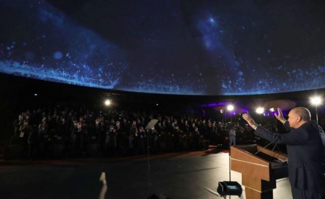 أردوغان: تركيا تهبط على سطح القمر في عام 2023..