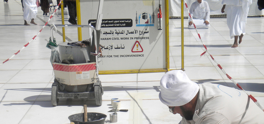 Why Makkah's marble flooring is cool to touch