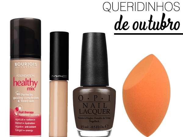 OCTOBER BEAUTY FAVORITES.