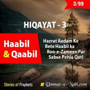 Hiqayat (Part 3) » Aadam ke Bete Habil aur Qaabil