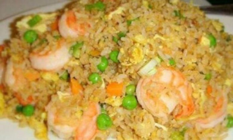yummy shrimp or prawn fried rice can be your best favorite food