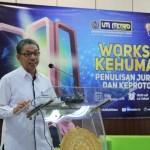 Rektor UM Metro Tegaskan Pentingnya Publikasi di Era Digital