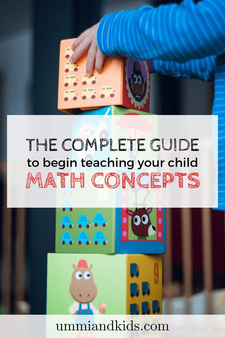 The complete guide to begin teaching your child math concepts | Early Years Numeracy