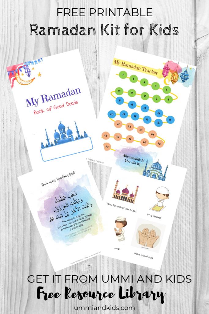 Ramdan Kit for kids