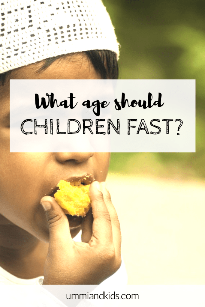 What age should children fast?
