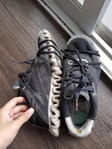 Shoes I used to climb Mount Kinabalu