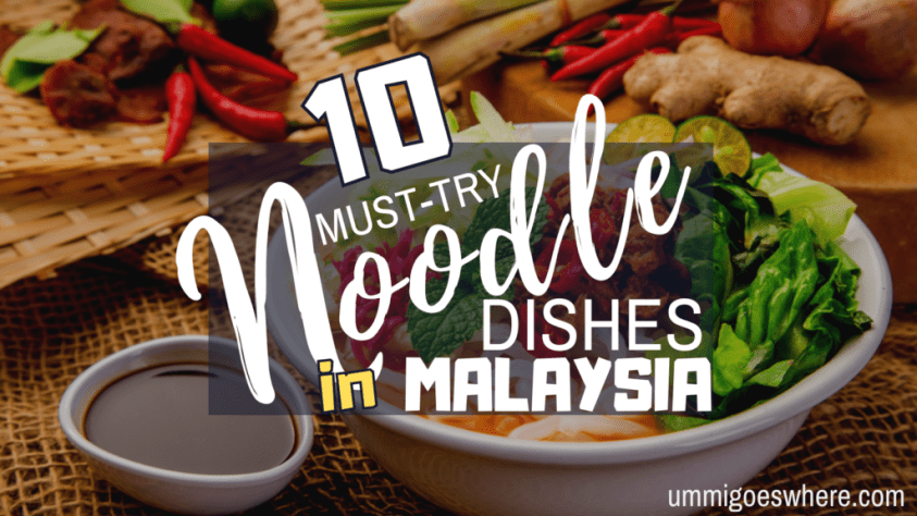 10 Types of Noodle Dishes that You Must Try in Malaysia | Ummi Goes Where?