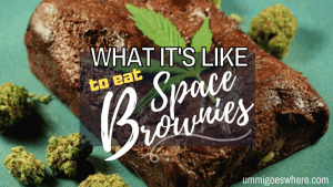 What It's Like to Eat Space Brownies | Ummi Goes Where?