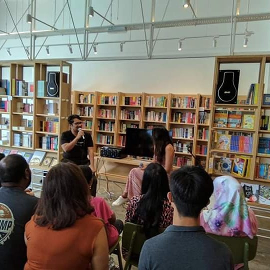 2020 - An Anthology book launch at Lit Books