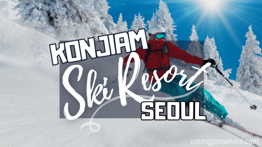 Konjiam Ski Resort Seoul