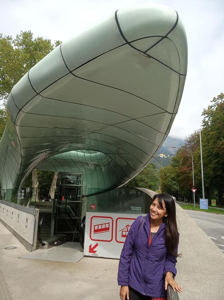 Congress Underground Station Hungerburg Funicular | Ummi Goes Where?