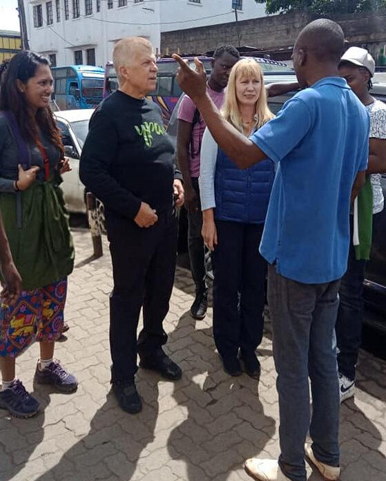 Nairobi walking tour with street kids
