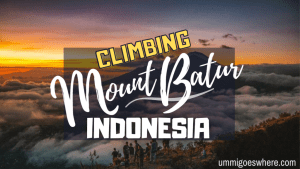 Climbing Mount Batur, Indonesia