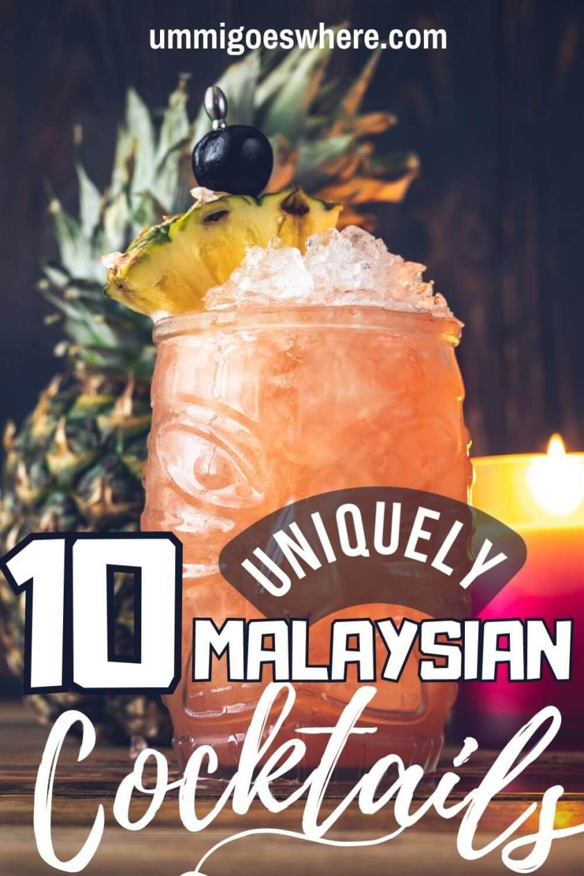 Cocktails in Malaysia
