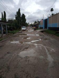 Potholes in Dar es Salaam