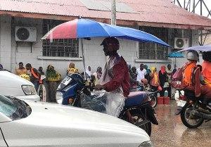 Rainy day in Tanzania