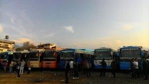 Pokhara buses