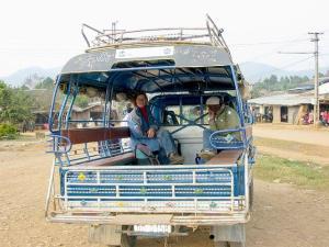 Tuk tuk Laos