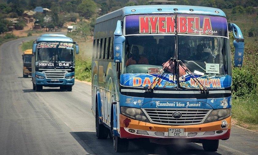 Tanzanian buses