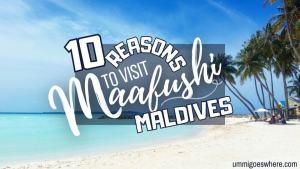 10 Reasons to Visit Maafushi Maldives