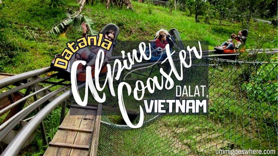 Datanla Alpine Coaster Dalat Vietnam