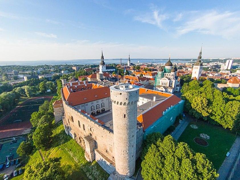 Toompea Castle Tallinn Estonia