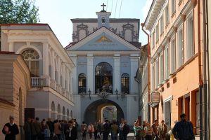 Gate of Dawn vilnius Lithuania