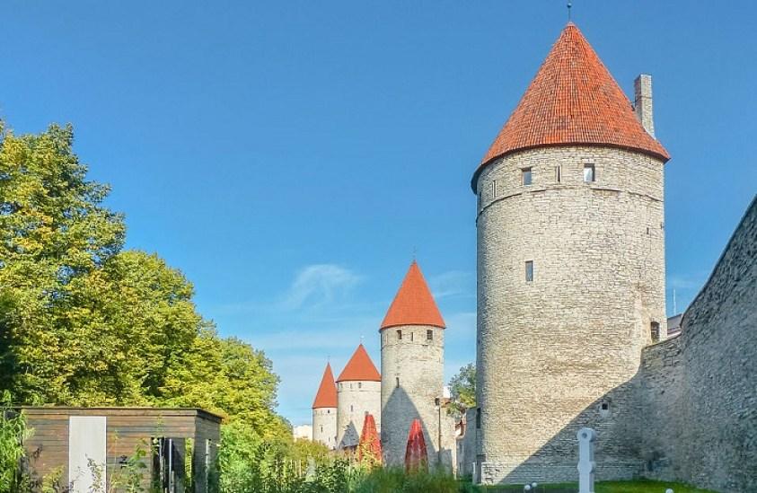 Tallinn City Wall one day itinerary