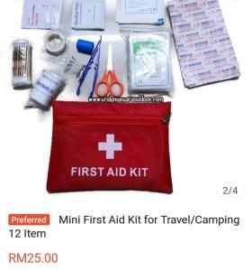 Shopee first aid kit