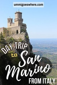 One Day in San Marino Itinerary