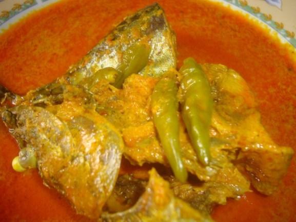 Gulai Lemak Ikan Tongkol