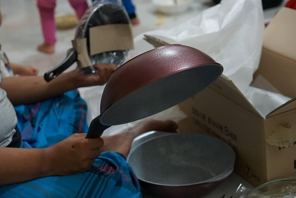 Ecoramic Frying Pan Diamond Coating