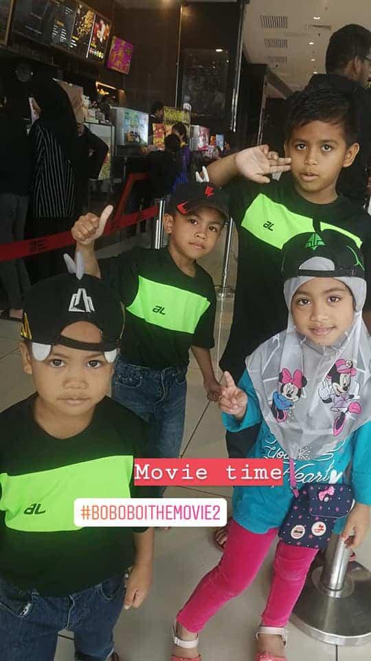 Boboiboy Movie 2 peminat nombor 1