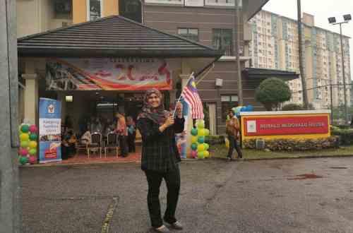 Rumah Ronald McDonald (RRM) di Hospital Canselor Tuanku Muhriz Universiti Kebangsaan Malaysia (HCTM-UKM)